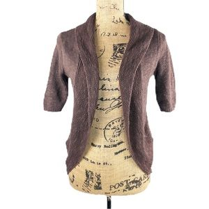 Maurices Open Front Cardigan Shrug
